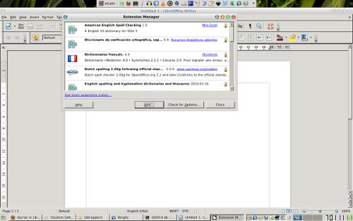 Instalasi QiOO di LibreOffice