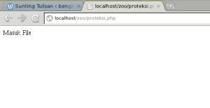 proteksi.php di eksekusi