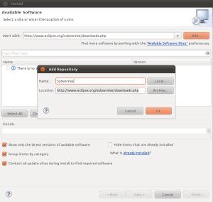 Langkah 2 - Tekan tombol Add untuk menyimpan URL subversive